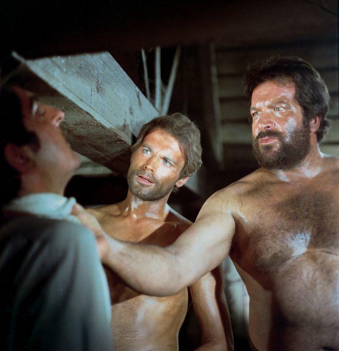Vier Fäuste für ein Ave Maria: Hutch (Bud Spencer, r.) und Cat (Terence Hill, l.) ... - Bildquelle: Paramount Pictures