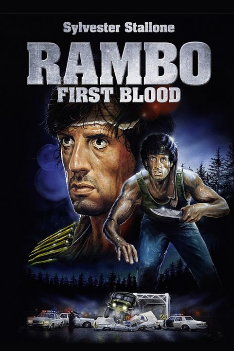 First Blood - Plakatmotiv - Bildquelle: 1982 STUDIOCANAL. All Rights Reserved.