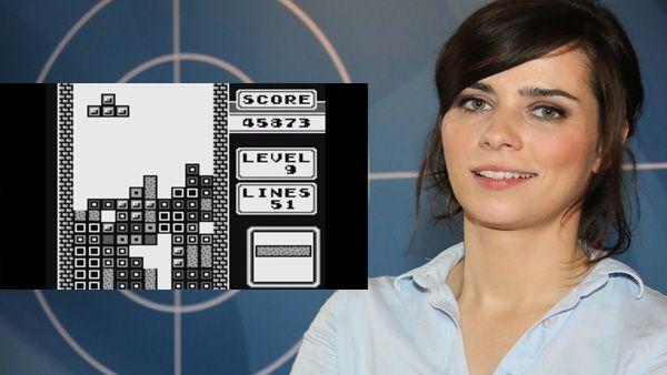 Nora Tschirner - Tetris