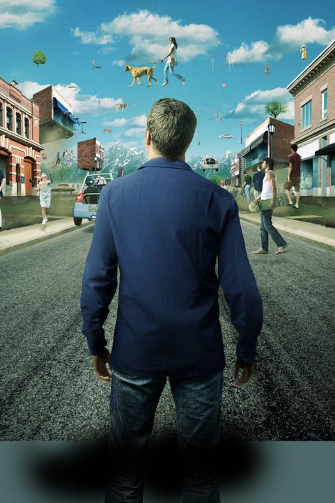 (2. Staffel) - Durch Zufall landet Jack Carter (Colin Ferguson) in Eureka, einem kleinen Städtchen, in dem alles etwas anders ist ... - Bildquelle: Universal Television