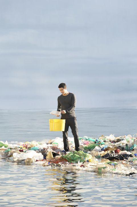Nachdem Team Scorpion ein Mittel gegen das Müllproblem im Pazifik entwickelt hat, wollen sie Plastik mit gefährlichen Chemikalien aufhalten, bevor e... - Bildquelle: Erik Voake 2017 CBS Broadcasting, Inc. All Rights Reserved. / Erik Voake