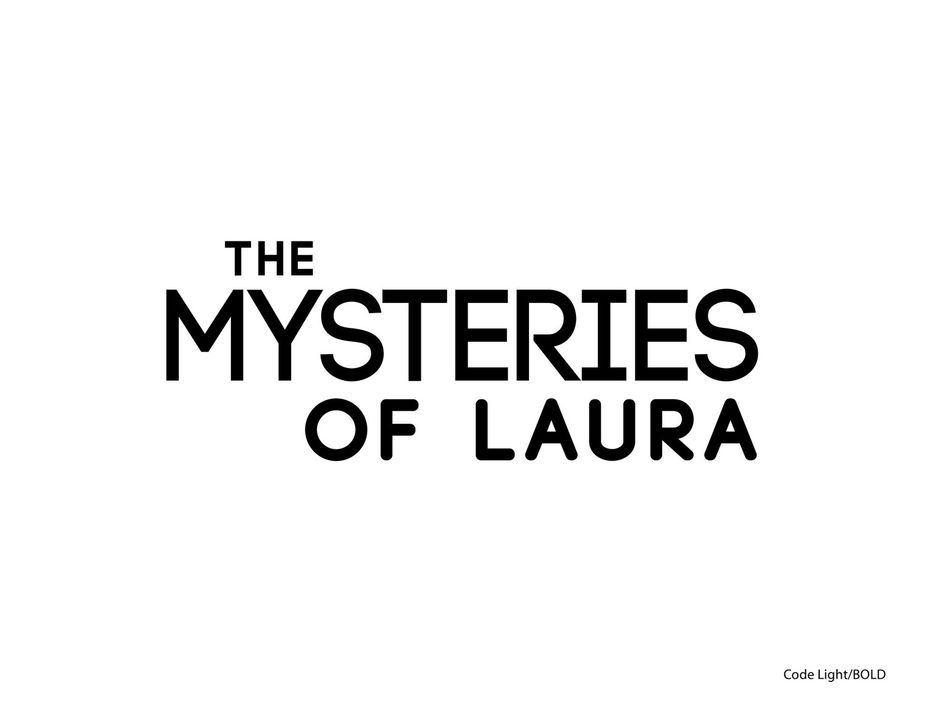 The Mysteries of Laura - Originaltitel-Logo - Bildquelle: Warner Bros. Entertainment, Inc.