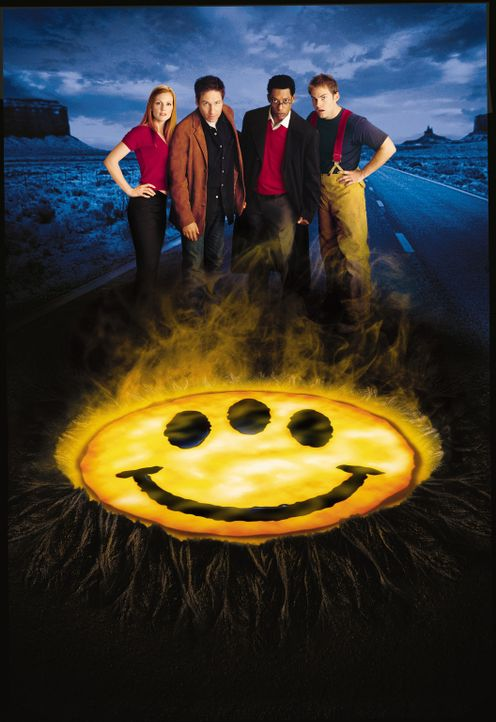 Als ein Meteorit in Texas einschlägt, bringt er außerirdisches Leben auf die Erde, das sich rasant von einer Flüssigkeit zu Primaten entwickelt.... - Bildquelle: 2003 Sony Pictures Television International