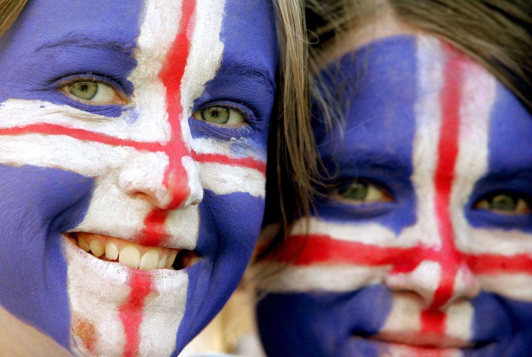 Fußball-Fan-Island-040818-AFP - Bildquelle: AFP