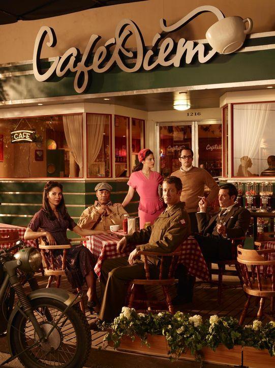 (4. Staffel) - Die idyllische Kleinstadt Eureka an der Westküste der USA und deren Bewohner verbergen ein mysteriöses Geheimnis: Allison Blake (Sall... - Bildquelle: Universal Television