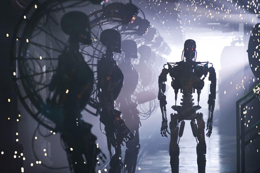 2018: Das Computersystem Skynet und die Maschinen haben die Herrschaft über die Erde übernommen. Ein Großteil der Menschheit wurde bereits ausgelösc... - Bildquelle: 2009 T Asset Acquisition Company, LLC. All Rights Reserved.