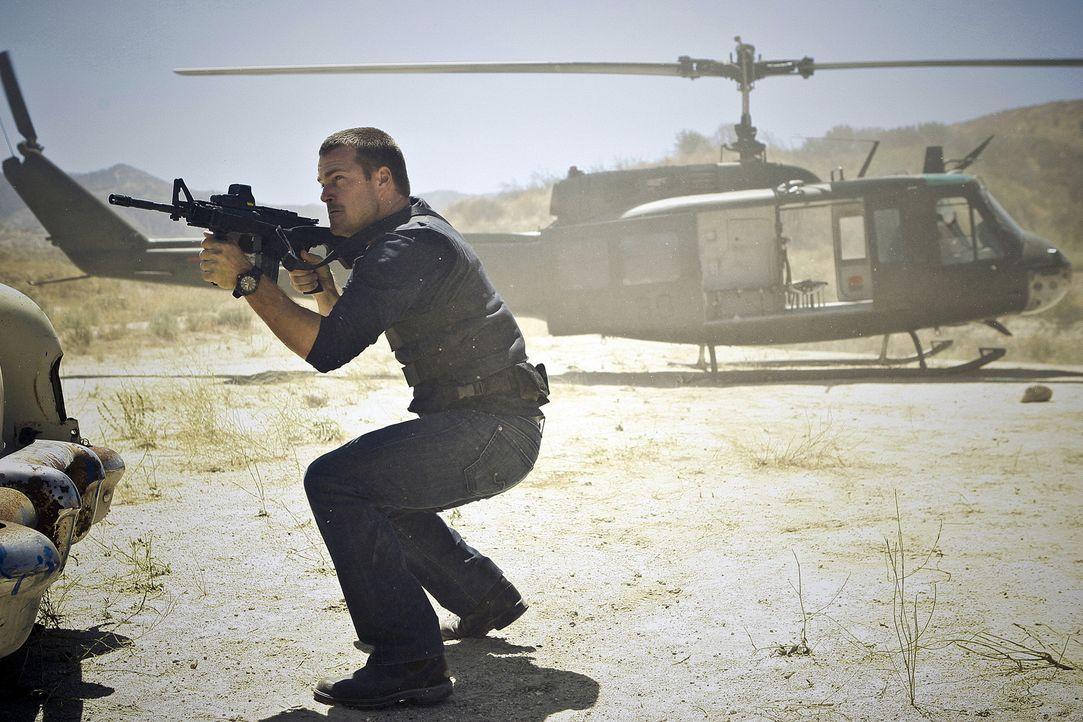 Um die nationale Sicherheit zu wahren, setzt Callen (Chris O'Donnell) immer wieder sein Leben aufs Spiel ... - Bildquelle: CBS Studios Inc. All Rights Reserved.