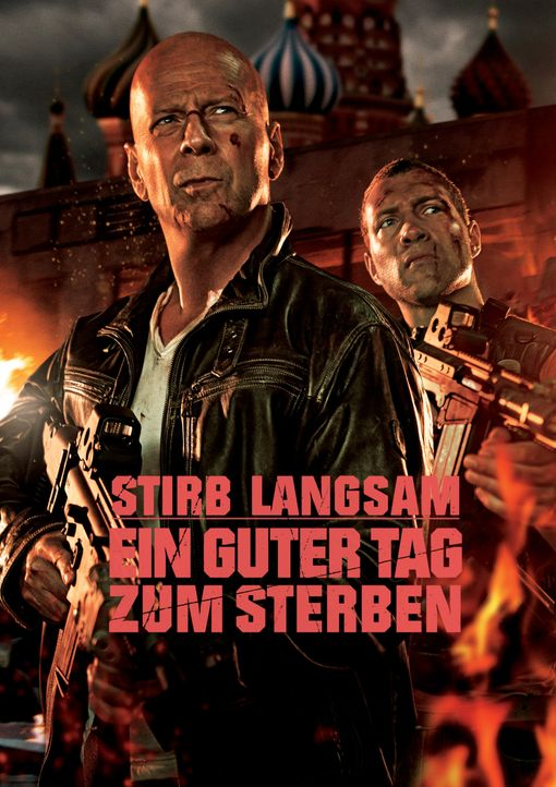 STIRB LANGSAM - EIN GUTER TAG ZUM STERBEN - Plakatmotiv - Bildquelle: 2013 Twentieth Century Fox Film Corporation. All rights reserved.