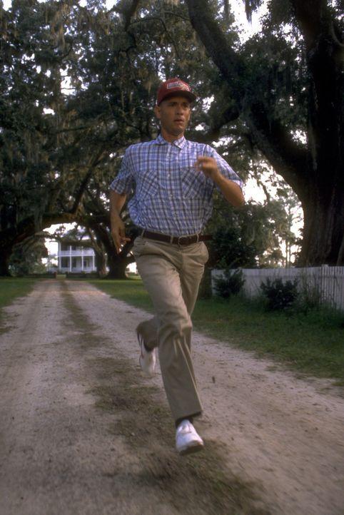 """""""Lauf, Forrest, lauf!"""" Dieser Rat von seiner einzigen Freundin verändert Forrests (Tom Hanks) Leben von Grund auf ... - Bildquelle: Paramount Pictures"""