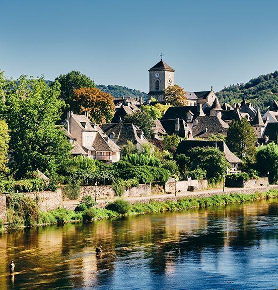 St-Léon-sur-Vézère, Frankreich