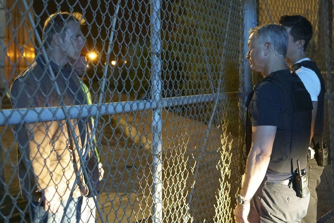 Als ein Amerikaner, der in Griechenland versucht hatte, ein Teil des Familienunternehmens zu werden, tot aufgefunden wird, werden Matt Simmons (Dani... - Bildquelle: Bill Inoshita 2016 ABC Studios. All rights reserved.