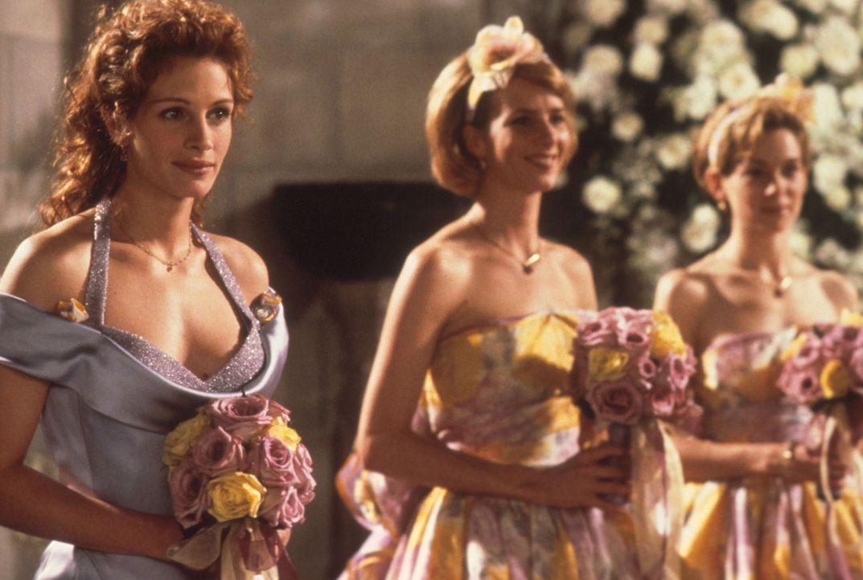 Der Tag der Hochzeit: Julianne (Julia Roberts, l.) ... - Bildquelle: Columbia TriStar
