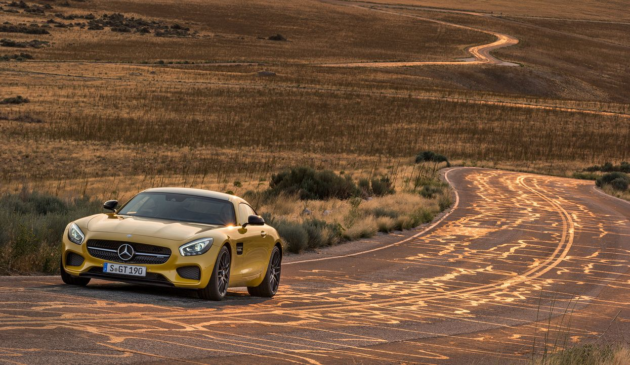 Mercedes AMG GT (12) - Bildquelle: press photo, do not use for advertising purposes