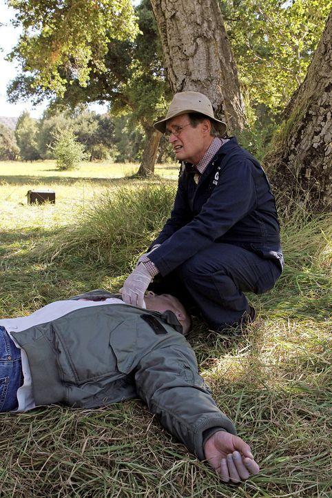Nimmt einen Tatort unter die Lupe: Ducky (David McCallum) ... - Bildquelle: CBS Television
