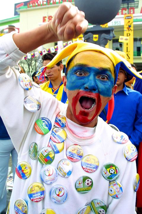 Ein wahrer Fan! - Bildquelle: Martin Bernetti/AFP