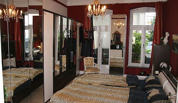 Yvettes-Schlafzimmer