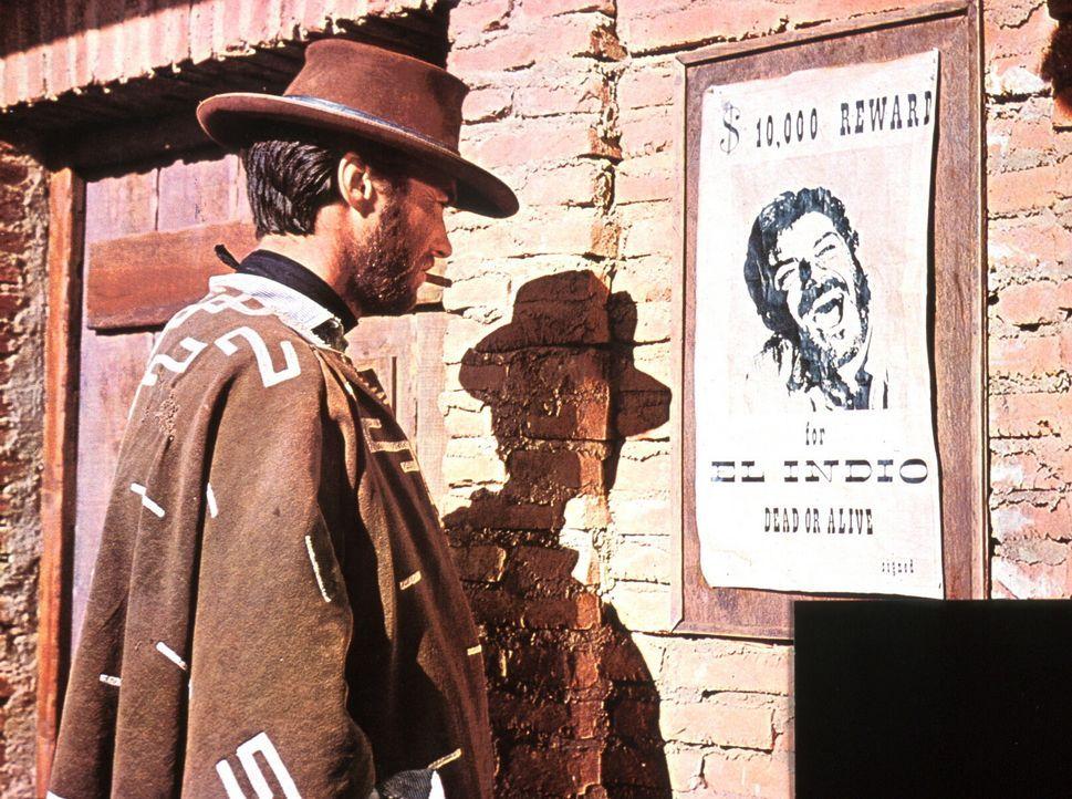 Der ausgebuffte Kopfgeldjäger Monco (Clint Eastwood) erschleicht sich den Zugang zu Indios Mordbande, indem er einen der ihren aus dem Gefängnis b... - Bildquelle: United Artists