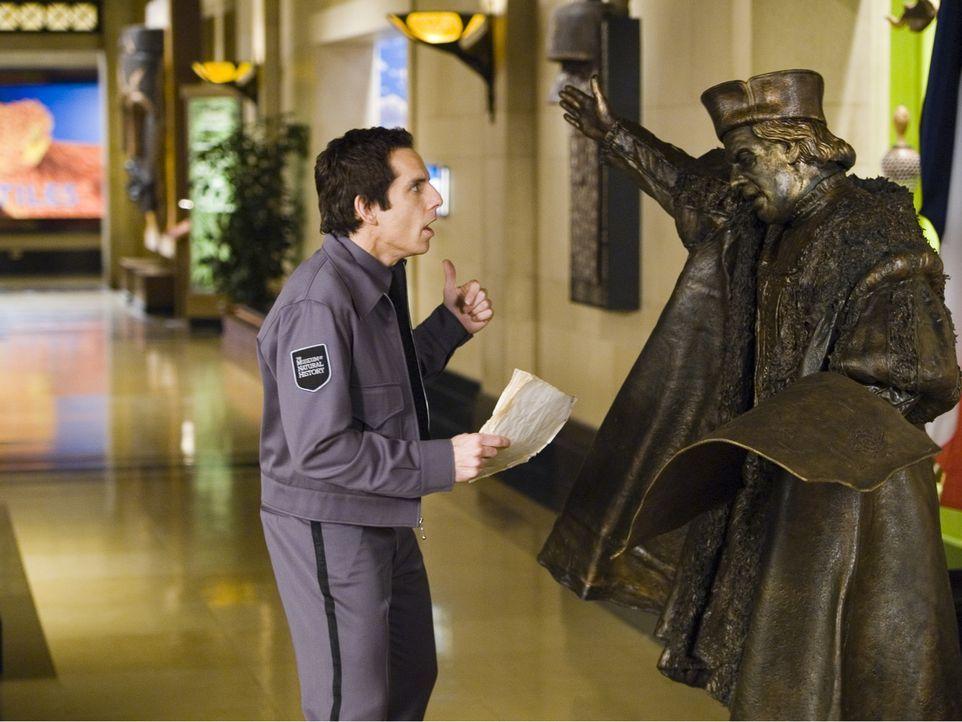 Larry Daley (Ben Stiller) - Bildquelle: 2006 Twentieth Century Fox Film Corporation.  All rights reserved.