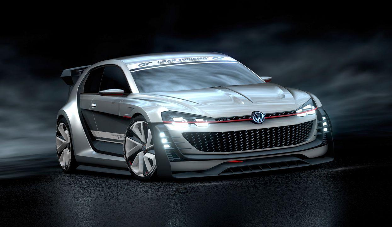 VW GTI Supersport Vision Gran Turismo (1) - Bildquelle: Verwendung fuer Pressezwecke honorarfrei