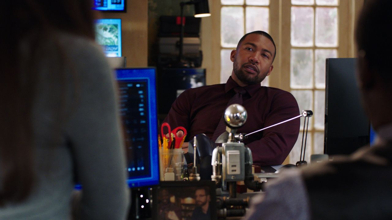 Quentin Carter (Charles Michael Davis) - Bildquelle: 2021 CBS Broadcasting Inc. All Rights Reserved.