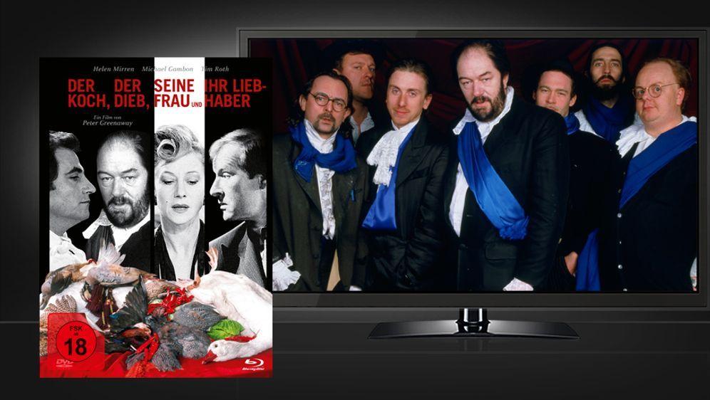 Der Koch, der Dieb, seine Frau und ihr Liebhaber (Mediabook Blu-ray+DVD) - Bildquelle: justbridge entertainment (Rough Trade Distribution)