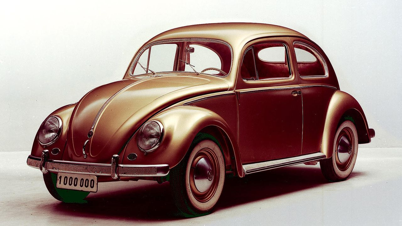Platz 1: VW Käfer - Bildquelle: VW