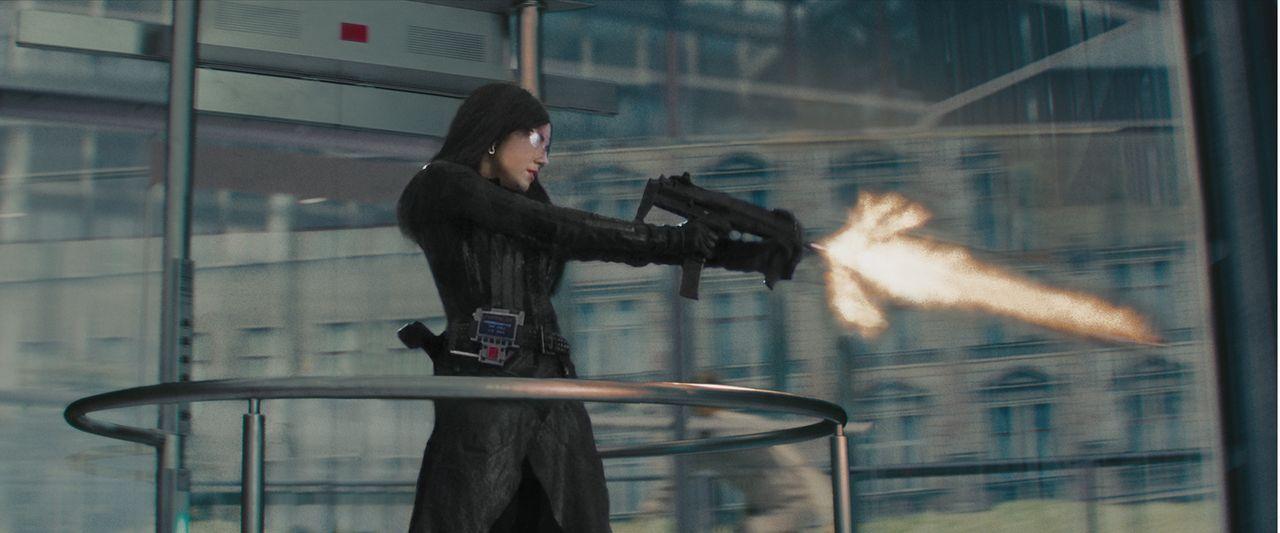 """Die Geheimorganisation Cobra der eiskalten """"Baroness"""" (Sienna Miller, M.) bedroht die gesamte Welt. Nur noch die Spezialtruppe der G.I. Joes kann de... - Bildquelle: 2009 Paramount Pictures Corporation. All Rights Reserved."""