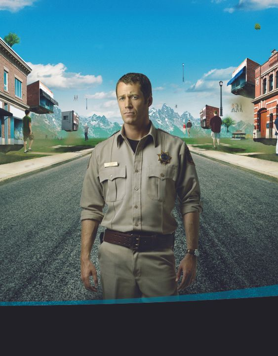(2. Staffel) - Eines Tages landet Jack Carter (Colin Ferguson) in Eureka, einem kleinen Städtchen, dass ganz anders ist, als alle anderen ... - Bildquelle: Universal Television
