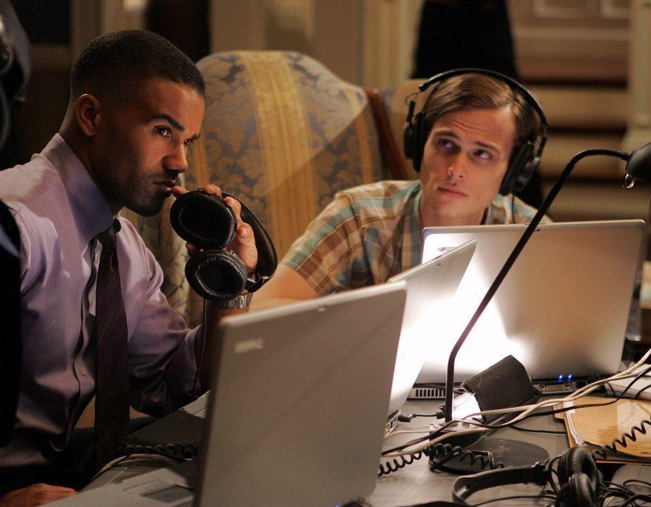 Stehen vor einem schwierigen Fall: Special Agent Derek Morgan (Shemar Moore, l.) und Dr. Spencer Reid (Matthew Gray Gubler, r.) ... - Bildquelle: Touchstone Television