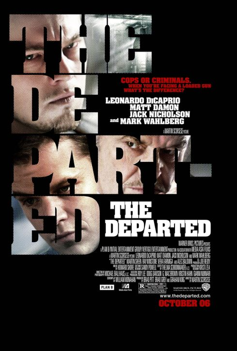 Departed - Unter Feinden - Plakatmotiv - Bildquelle: Warner Bros. Entertainment Inc
