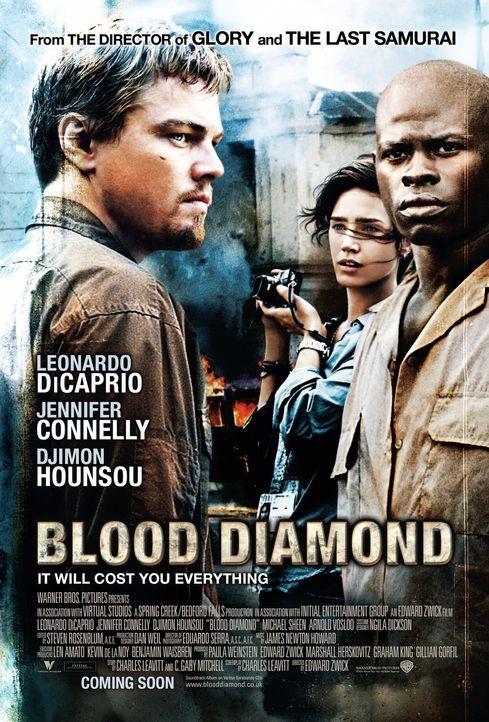 BLOOD DIAMOND - Plakatmotiv - Bildquelle: Warner Bros.