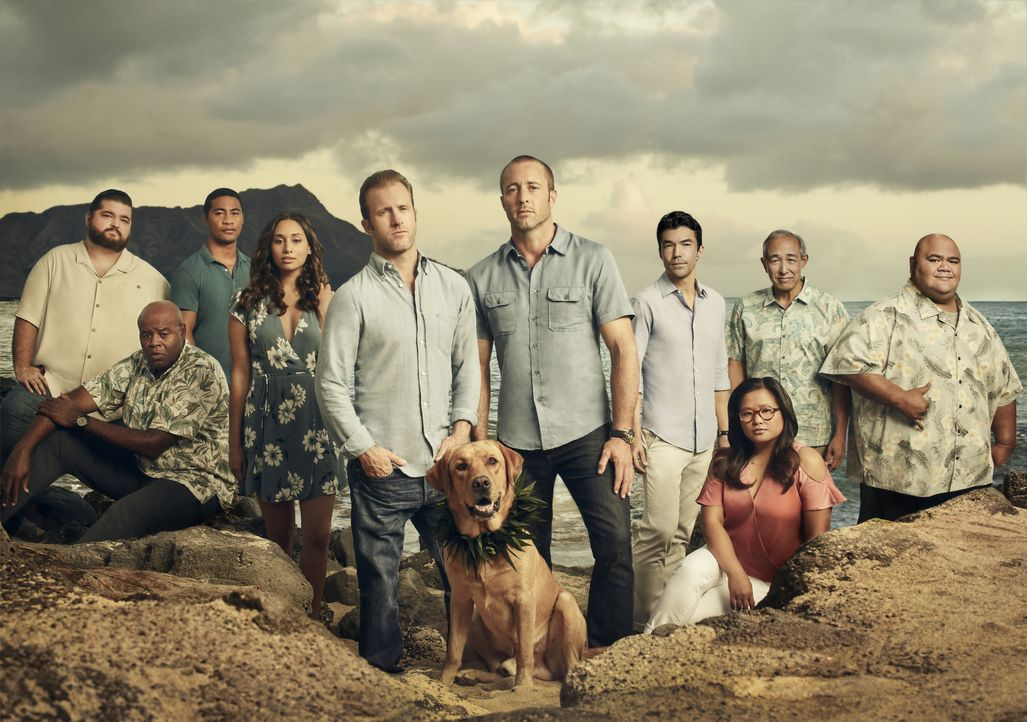 (9. Staffel) - Hawaii Five-0 - Artwork - Bildquelle: Justin Stephens 2018 CBS Broadcasting Inc. All Rights Reserved. / Justin Stephens