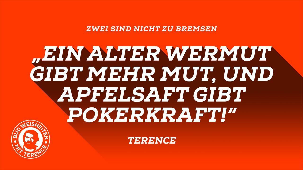 Bud-Weisheiten mit Terence 5