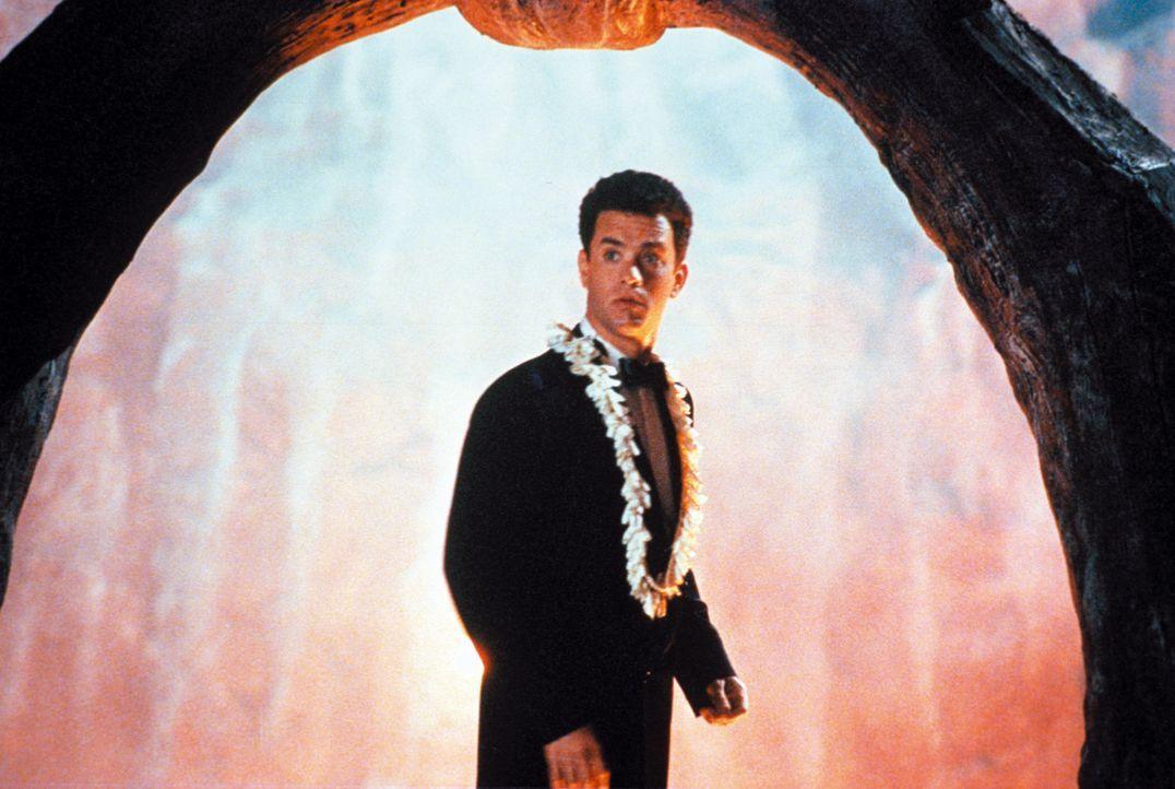 Bereit für den Sprung in den Vulkan: Joe (Tom Hanks) - Bildquelle: Warner Bros.
