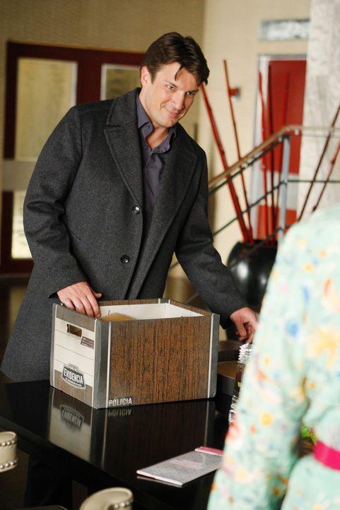 Castle (Nathan Fillion) trifft einen alten Schulfreund wieder, der angeblich seine Frau getötet hat. Um seine Unschuld zu beweisen, stürzt sich Cast... - Bildquelle: ABC Studios