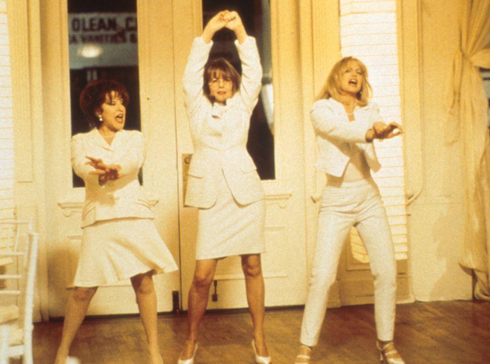 'Rache ist süß!' Brenda (Bette Midler, l.), Elise (Goldie Hawn, r.) und Annie (Diane Keaton, M.)  beschließen, ihre treulosen Männer gesellschaf... - Bildquelle: Paramount Pictures