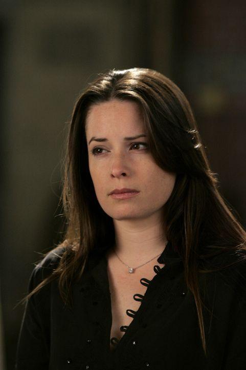 Gefangen im kosmischen Nichts, ist Piper (Holly Marie Combs) überrascht Cole zu treffen ... - Bildquelle: Paramount Pictures