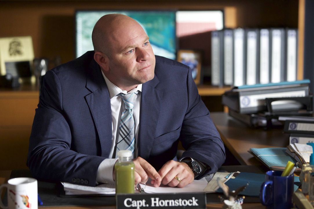 Weil Captain Hollstock (Domenick Lombardozzi) unbedingt Polizeipräsident werden möchte, tut er tunlichst alles, um einflussreiche Leute nicht zu ver... - Bildquelle: 2015-2016 Fox and its related entities.  All rights reserved.