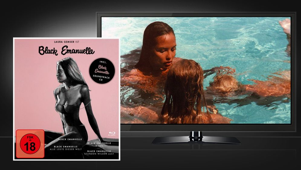 Black Emanuelle 1-4 (Blu-ray Disc Box Set) - Bildquelle: Koch Media