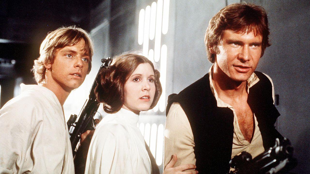"""Harrison Ford in """"Die Rückkehr der Jedi-Ritter"""" (1983) - Bildquelle: dpa"""