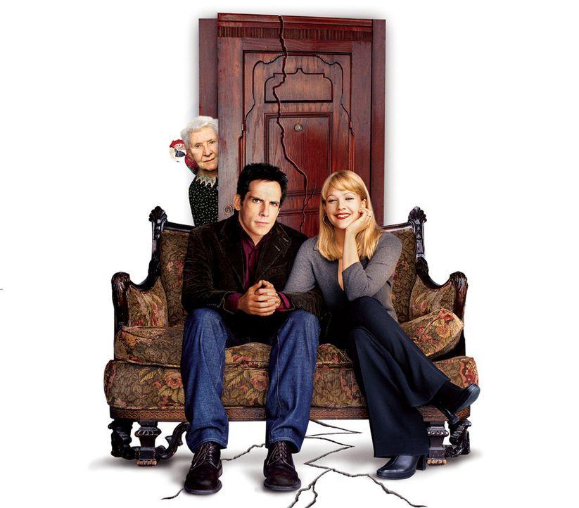 Der Appartement-Schreck - Artwork (mit Ben Stiller, M., Drew Barrymore, r. und Eileen Essel, l.) - Bildquelle: Michaels Darren Miramax Films.  All Rights Reserved.