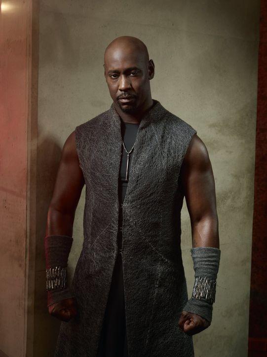 (1. Staffel) - Amenadiel (D.B. Woodside), der Bruder des Teufels, versucht, Lucifer wieder zurück auf seinen Thron zu holen. Wie weit wird er dafür... - Bildquelle: 2016 Warner Brothers