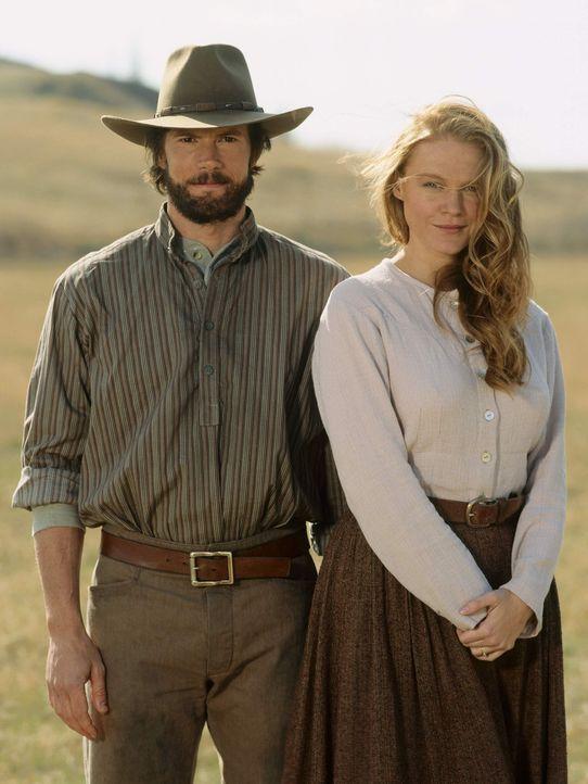 Auf dem Weg in eine bessere Zukunft: Charles Ingalls (Cameron Bancroft, l.) und seine Frau Caroline (Erin Cottrell, r.) - Bildquelle: ABC, Inc.