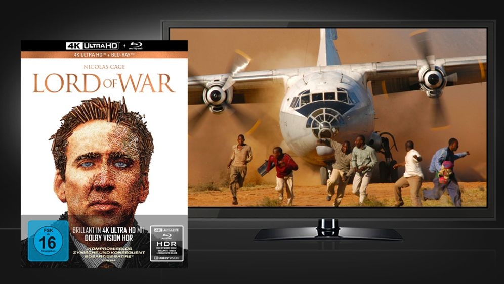 Lord of War (Mediabook UHD + Blu-ray) - Bildquelle: Capelight Pictures