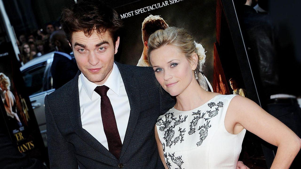 Reese Witherspoon und Robert Pattinson - Bildquelle: getty-AFP
