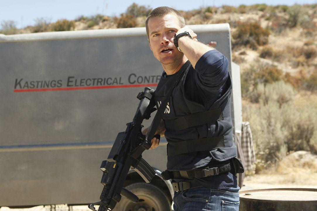 Gemeinsam mit seinen Kollegen ermittelt Callen (Chris O'Donnell) in einem neuen Fall ... - Bildquelle: CBS Studios Inc. All Rights Reserved.