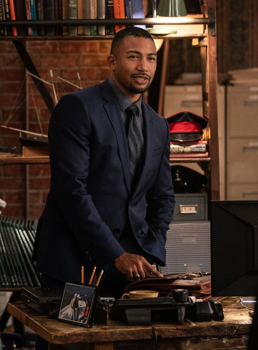 Special Agent Quentin Carter (Charles Michael Davis) - Bildquelle: Sam Lothridge 2019 CBS Broadcasting Inc. All Rights Reserved. / Sam Lothridge