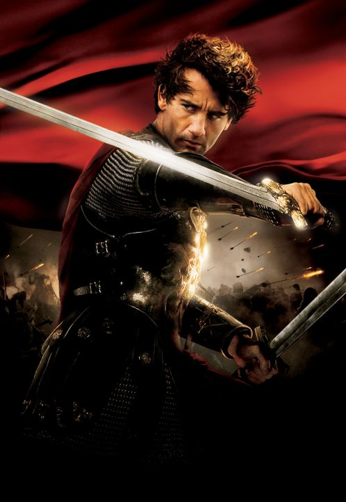 King Arthur - Artwork -  mit Clive Owen - Bildquelle: TOUCHSTONE PICTURES & JERRY BRUCKHEIMER FILMS, INC. ALL RIGHTS RESERVED.