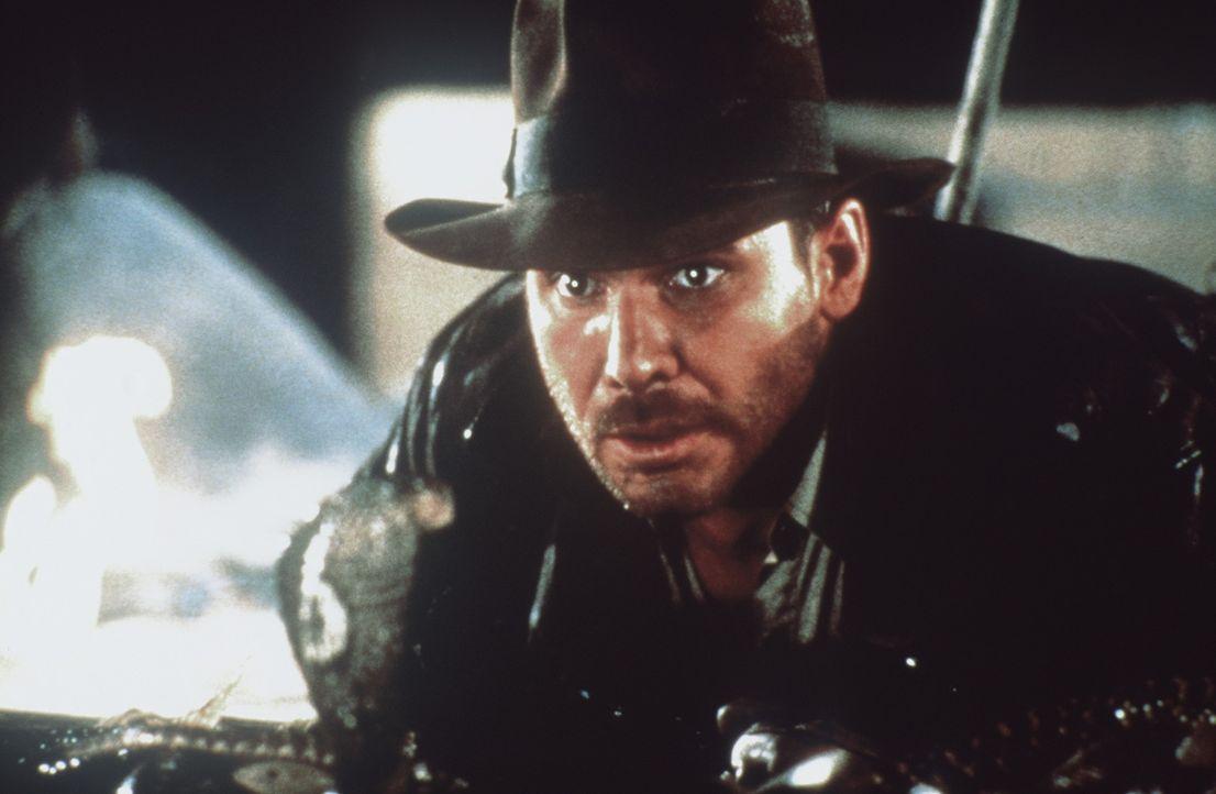 Eines Tages erhält der Archäologieprofessor Indiana Jones (Harrison Ford) vom amerikanischen Geheimdienst den Auftrag, die verschollene Bundeslade... - Bildquelle: Paramount Pictures
