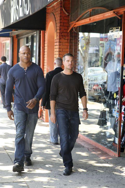 Ermitteln Undercover im sonnigen Kalifornien, um die nationale Sicherheit zu wahren: Special Agent G. Callen (Chris O'Donnell, r.) und Special Agent... - Bildquelle: CBS Studios Inc. All Rights Reserved.